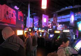 Player 1 Video Game Bar